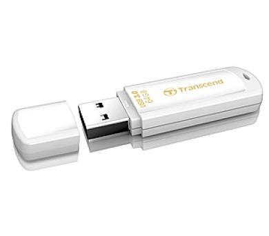 Transcend JetFlash 730 64GB USB 3.0 - bílý