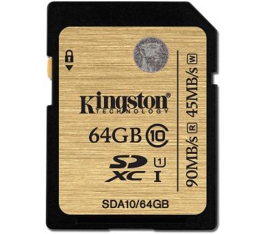 Kingston SDXC 64GB UHS-I U1 (90R/45W)