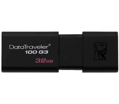 Kingston DataTraveler 100 G3 64GB USB 3.0 - černý
