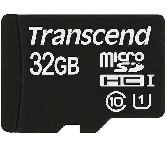 Transcend MicroSDHC Premium 32GB UHS-I U1 (45MB/s)