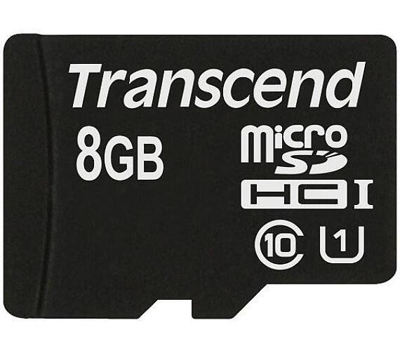 Transcend MicroSDHC Premium 8GB UHS-I U1 (45MB/s)