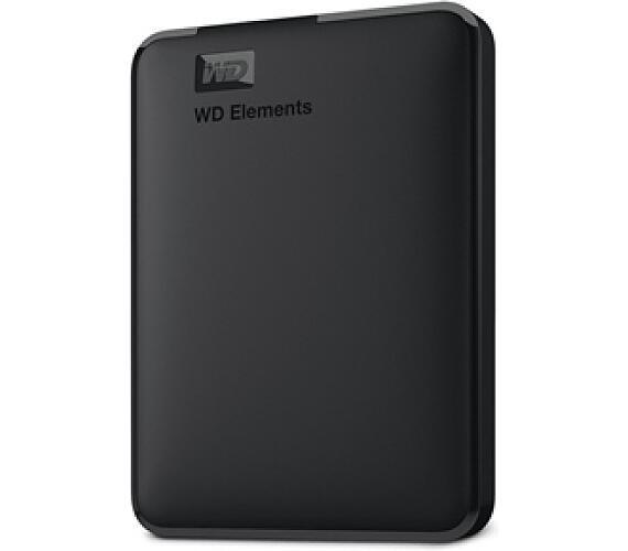 "HDD ext. 2,5"" Western Digital Elements Portable 2TB - černý + DOPRAVA ZDARMA"