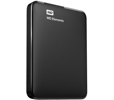 "HDD ext. 2,5"" Western Digital Elements Portable 1TB - černý + DOPRAVA ZDARMA"
