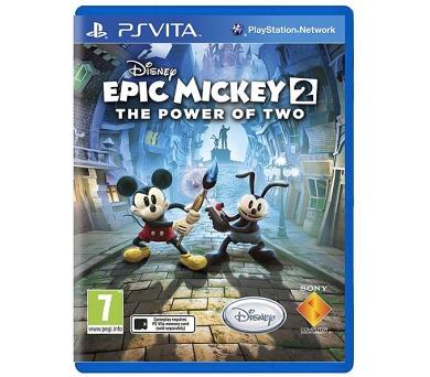 Sony PS VITA Disney Epic Mickey 2: Dvojitý zásah CZ