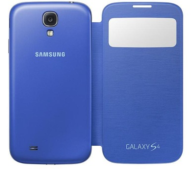 Samsung S-View pro Galaxy S4 (EF-CI950BCEG ) - modré + DOPRAVA ZDARMA