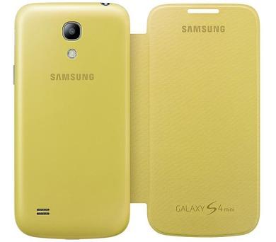 Samsung pro Galaxy S4 mini (EF-FI919BY) - žluté + DOPRAVA ZDARMA