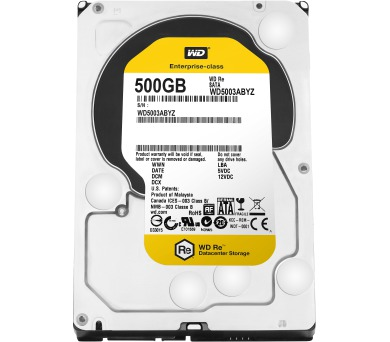 "HDD 3,5"" Western Digital RE 500GB SATA III"