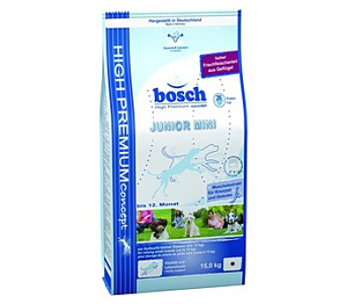 Granule BOSCH Junior Mini 15 kg