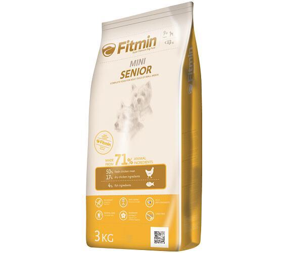 FITMIN dog mini senior - 3 kg