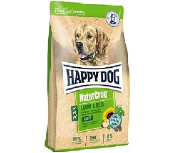 Granule HAPPY DOG NATUR-Croq Lamm&Rice 15 kg + DOPRAVA ZDARMA
