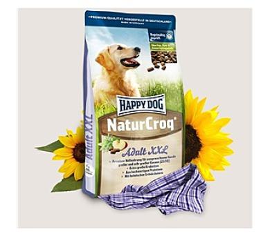 Granule HAPPY DOG NATUR-Croq XXL 15 kg + DOPRAVA ZDARMA