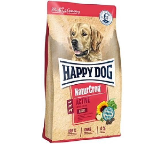 Granule HAPPY DOG NATUR-Croq Activ 15 kg + DOPRAVA ZDARMA