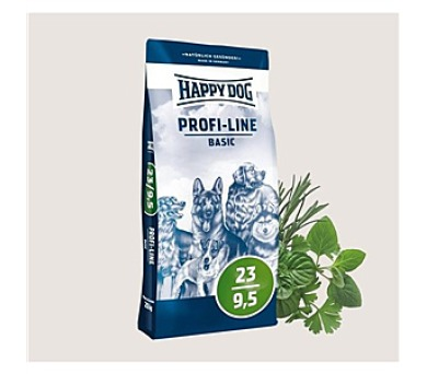 Granule HAPPY DOG Profi-Line BASIC 23/9,5 20 kg