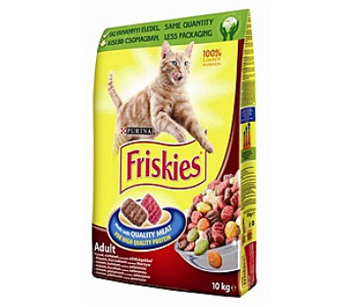 Friskies Cat maso a zelenina 10 kg