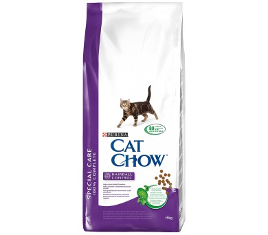 Granule Purina Cat Chow Special Care Hairball 15 kg