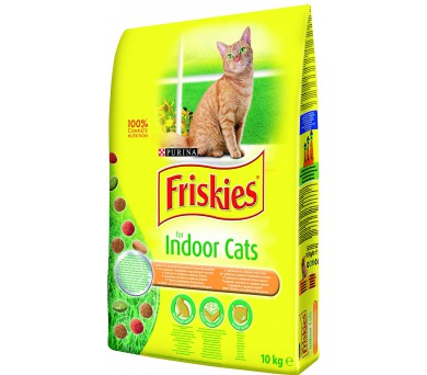 Friskies Indoor kuře 10 kg
