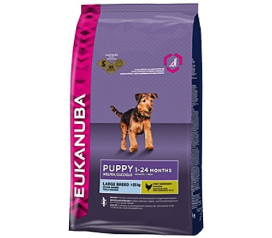 Eukanuba Puppy & Junior Large Breed 15 kg + 3 kg