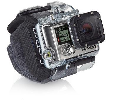 GoPro pro HERO3 kamery s uchycením na zápěstí
