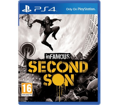 Sony PlayStation 4 inFamous Second Son