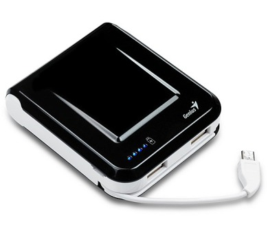 Genius ECO-u700 7800 mAh 7800 - černá/bílá + DOPRAVA ZDARMA
