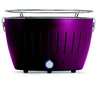 LotusGrill Purple - 34cm + taška na gril a sada baterií AA