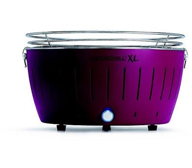 LotusGrill XL Purple - 44cm + taška na gril a sada baterií AA + DOPRAVA ZDARMA
