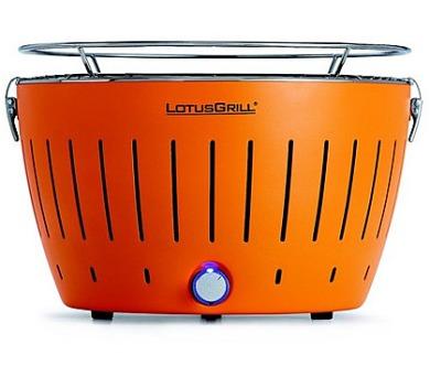 LotusGrill Orange - 34cm + taška na gril a sada baterií AA + DOPRAVA ZDARMA