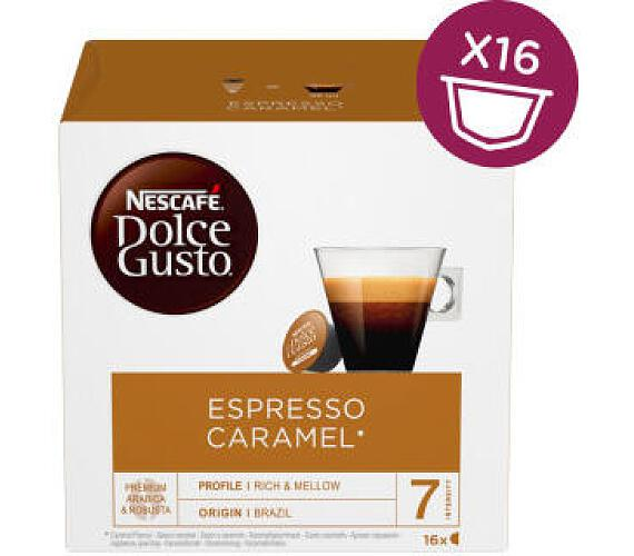NESCAFÉ Espresso Caramel 16 ks Dolce Gusto