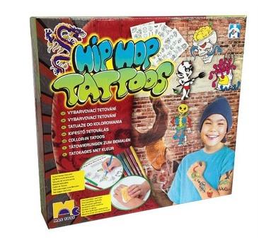 HipHop tetování Mac Toys pro kluky