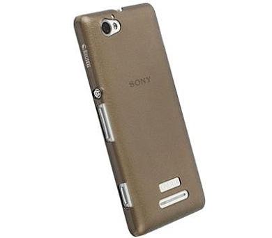 Krusell FROSTCOVER pro Sony Xperia M - černý