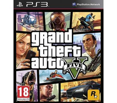 RockStar PlayStation 3 Grand Theft Auto V + DOPRAVA ZDARMA