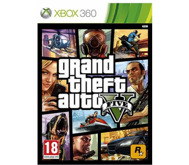 RockStar Xbox 360 Grand Theft Auto V + DOPRAVA ZDARMA