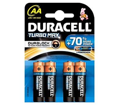 Duracell Turbo AA 1500 K4 Duralock