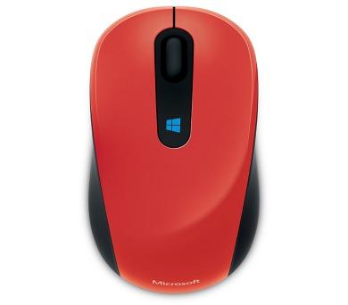 Microsoft Sculpt Mobile /BlueTrack / 3 tlačítka / 1000dpi - červená