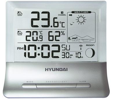 Hyundai WS 2266 průhledný displej