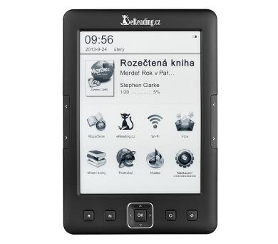 Čtečka e-knih eReading.cz START 2 - černá