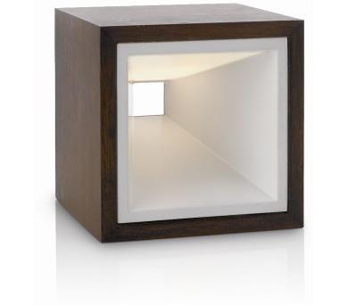 Kubiz LAMPA STOLNÍ LED rust 2x2,5W SELV Massive 43268/86/16