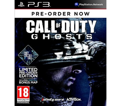 Activision PS3 Call of Duty Ghosts Free Fall