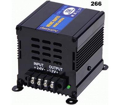 Síťový měnič napětí z 24V DC na 12V DC 15A
