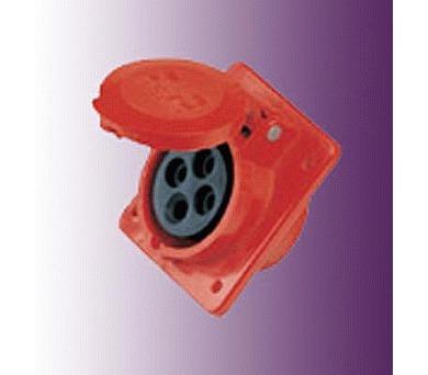Instalační zásuvka vestavná 32A/400V/4-pól