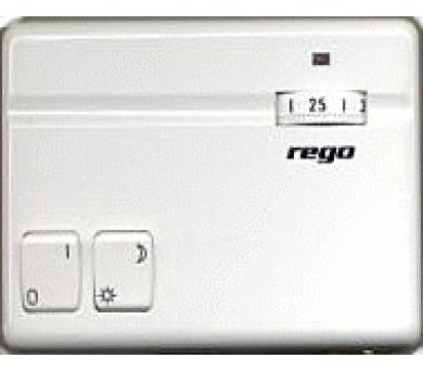 Prostorový termostat s nočním poklesem REGO 2A 97201