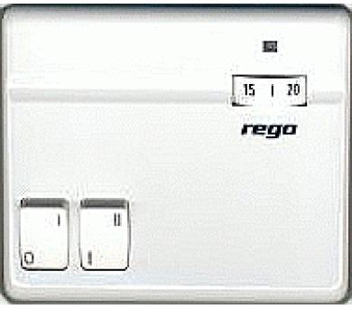 Prostorový termostat pro akumulační kamna REGO 2A 97202