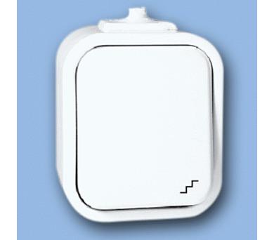 Instalační spínač WNT-5 IP44 bílá