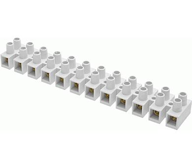 Instalační svorkovnice 10 bílá 15A