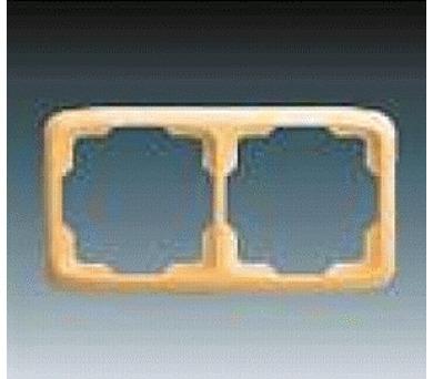 Dvojnásobný rámeček TANGO béžová