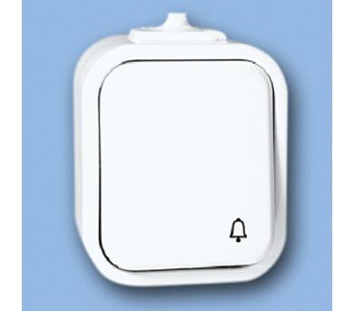 Instalační spínač WNT-7 IP44 bílá