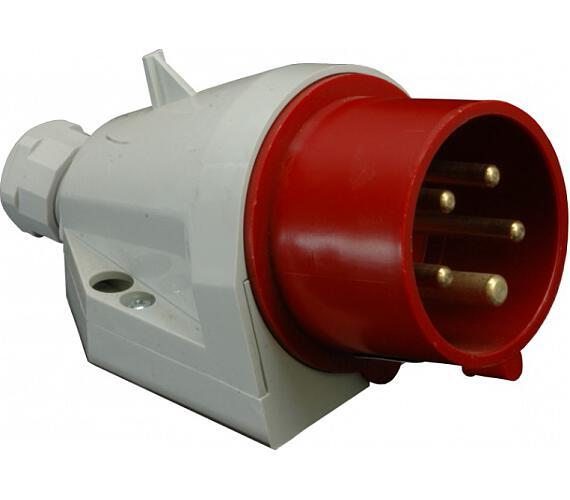 Instalační vidlice nástěnná 16A/400V/5-pól