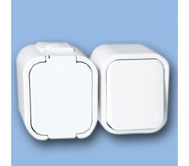 Instalační zásuvka + vypínač KOMBI GWN-1B
