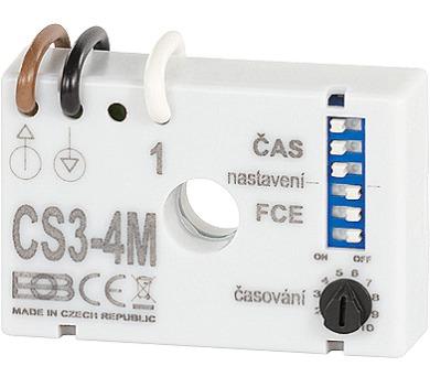 ELEKTROBOCK Spínač multifunkční časový pod vypínač CS3-4M