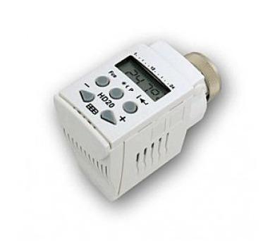 Digitální termostatická hlavice HD20